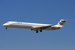 Bulgarian Air charter MD-82