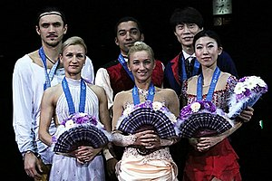 2013–14 Grand Prix of Figure Skating Final - The pairs' medalists