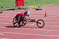 2013 IPC Athletics World Championships - 26072013 - Catherine Debrunner of Switzerland during the Women's 400M - T53 second semifinal 5.jpg