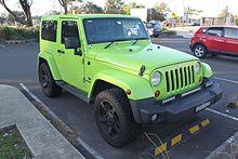 Jeep Wrangler (JK) del 2013