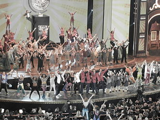 67th Tony Awards - Opening number finale