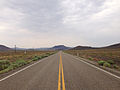 2014-07-17 10 41 00 View west along U.S. Route 6 about 83.9 miles east of the Esmeralda County Line in Nye County, Nevada.JPG