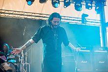 Orfigita tero sur Scenejo en Rock Hard Festival