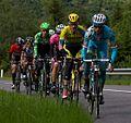 2014 Giro d'Italia, roze trui groep met aru rogers kelderman pozzovivo kiserlovski (17600678269).jpg