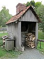 2014 Landis Valley Museum Building 3 Log Farm 3.jpg
