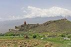 2014 Prowincja Ararat, Widok na Wielki Ararat i klasztor Chor Wirap (05).jpg