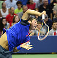 2014 US Open (Tennis) Tournament - Bernard Tomic (15141066682).jpg