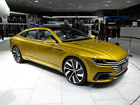 Image illustrative de l'article Volkswagen Sport Coupé Concept GTE