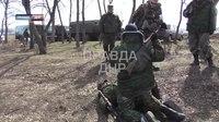 File:2015-03-25 Учения армии ДНР Эвакуация раненых.webm