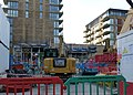 2015-London-Woolwich, Royal Arsenal Crossrail development 07.jpg