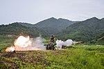 2015.9.11. 해병대 1사단-공용화기사격 11th Sep. 2015. ROK 1st Marine Division - a crew served weapon shooting (21410494160).jpg