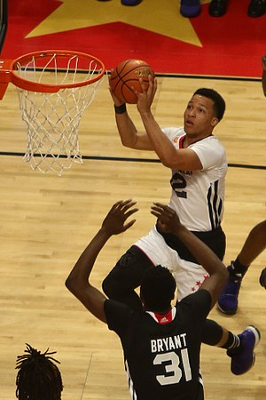2015–16 Villanova Wildcats men's basketball team - Jalen Brunson at the 2015 McDonald's All-American Boys Game