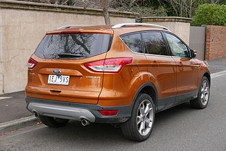 Ford Kuga - Ford Kuga Titanium (Australia; pre-facelift)