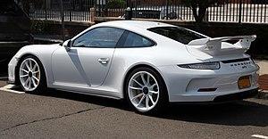 Porsche 911 GT3 - Porsche 911 GT3, rear view