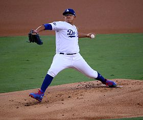 2016-10-19 Julio Urías Game 4 of NLCS 3.jpg