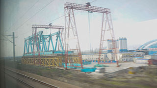 Nantong–Shanghai railway
