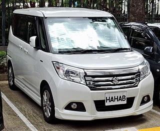 Suzuki Solio Minivan built by Suzuki