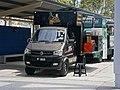 2017 DFSK K01H 1.3 Extra Cabin 2-door pickup truck (Big Lee's Kitchen food truck, 02) (33498989154).jpg