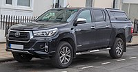 2018 Toyota Hilux Invincible X D-4d 4WD 2.4 Front.jpg