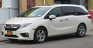 Honda Odyssey (North America) minivan, North American version