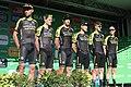 2019 ToB stage 1 - Team Mitchelton-Scott.JPG