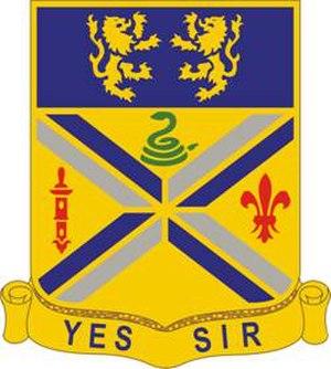 201st Field Artillery Regiment - Image: 201FARegt DUI
