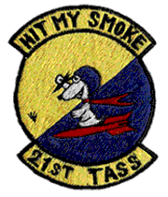 21st Tactical Air Support Squadron - Emblem of the 21st Tactical Air Support Squadron