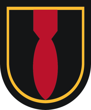52nd Ordnance Group (EOD) - Image: 28 Ord Co beret flash