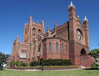 Christ Church Cathedral, Newcastle - Image: 2 christ church cathedral