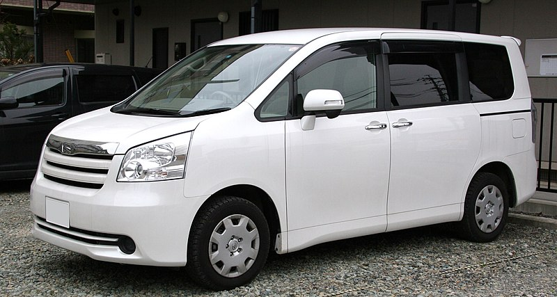 800px 2nd generation Toyota Noah 7 Toyota MPVs that Dominate the African Market