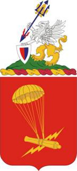 1st Battalion, 377th Field Artillery Regiment - 377th FAR Coat of Arms