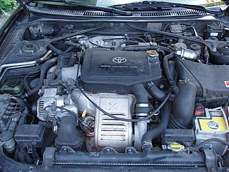 Toyota Celica GT-Four - The 3S-GTE engine in a Toyota Celica GT-Four (ST205)
