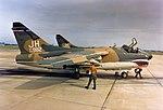 3d Tactical Fighter Squadron A-7D Corsair II 70-982 preparing to taxi.jpg