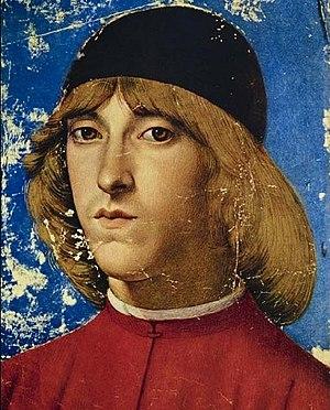 Gherardo di Giovanni del Fora - Portrait of Piero de Medici
