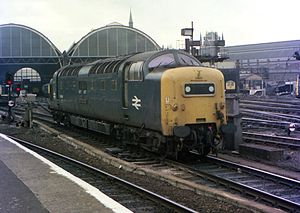55008 The Green Howards at Kings Cross Station (1).jpg