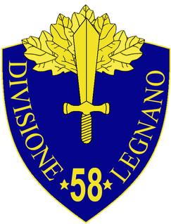 58th Infantry Division Legnano