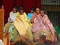 676 L'Estoreta Velleta, pl. del Carme (València), cort d'honor de la fallera major infantil.jpg