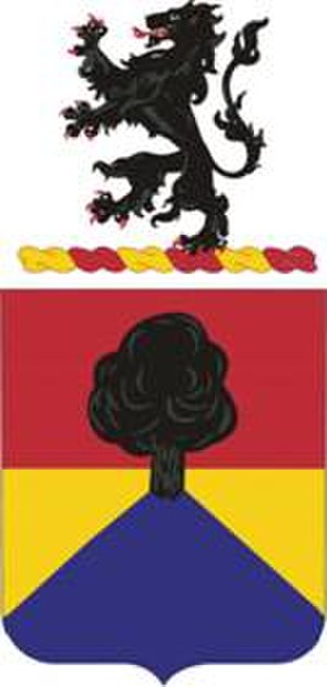 67th Armored Regiment - Coat of arms