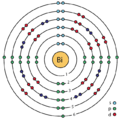 83 bismuth (Bi) ehnanced Bohr model.png