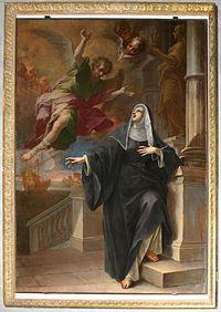 8586 Milano - S. Marco - Pietro Maggi - Apparizione angelo a S. Monica -1714- - Foto Giovanni Dall'Orto - 14-Apr-2007.jpg