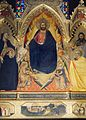 8b Andrea di Cione Orcagna, Strozzi Altarpiece. Detail. 1354-57, Santa Maria Novella, Florence..jpg