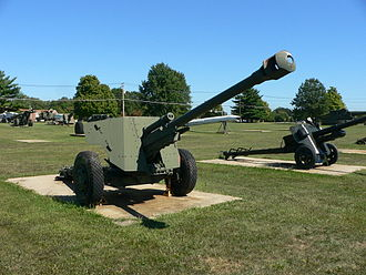 90 mm Gun M1/M2/M3 - An experimental 90 mm anti-tank gun.