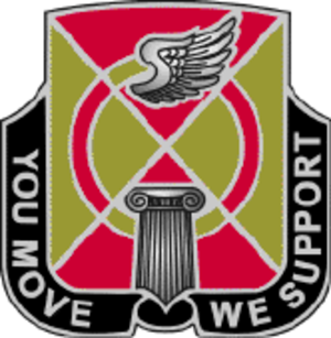 35th Combat Aviation Brigade (United States) - Image: 935 Spt Bn DUI