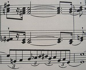 Sonata on the 94th Psalm - A pedal passage in the 1st movement