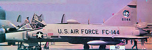 95th Fighter Squadron - 95 FIS Convair F-102A Delta Dagger 56-1144,  Summer 1958