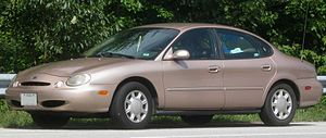 Ford Taurus (third generation) - Image: 96 97 Ford Taurus