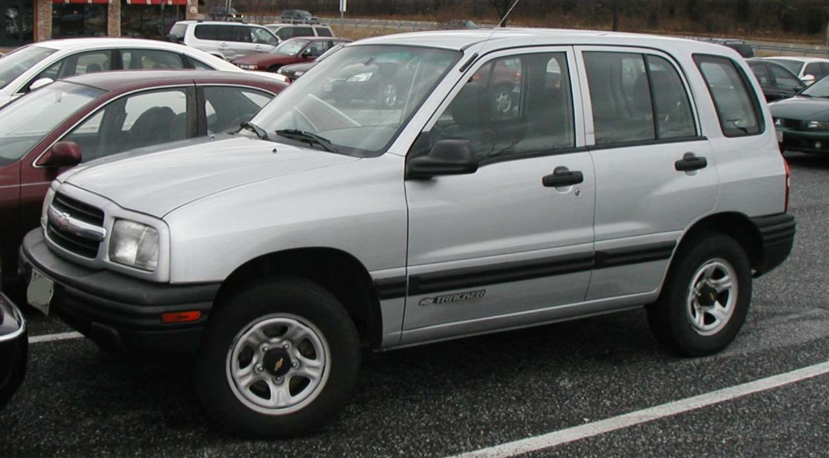 Chevrolet Tracker – Vikipedija
