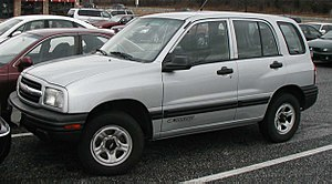 2009 Taconic State Parkway crash - 2002 Chevrolet Tracker