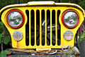 A299, Jeep grille, Townshend, Vermont, USA, 2010.JPG