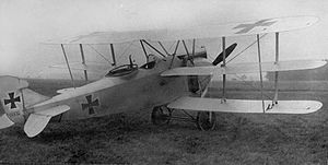 AEG C.VIII - Image: AEG C.VIII Triplane 1917